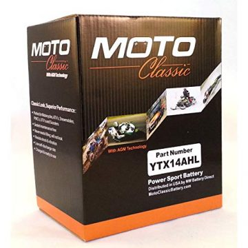 Moto Classic Motorcycle Batteries