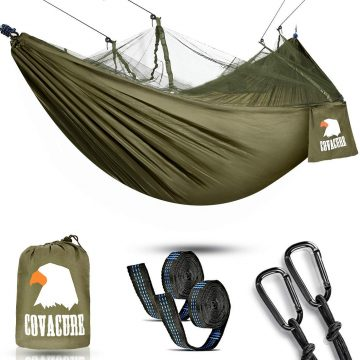 Covacure Hammocks with Mosquito Net