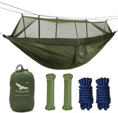 OUTFANDIA Hammocks with Mosquito Net