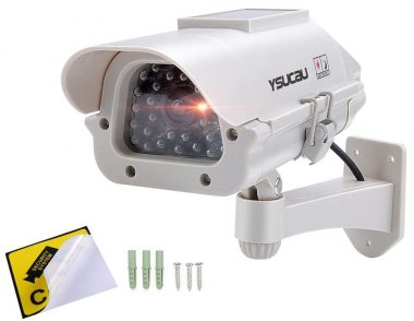 YSUCAU Fake Security Cameras