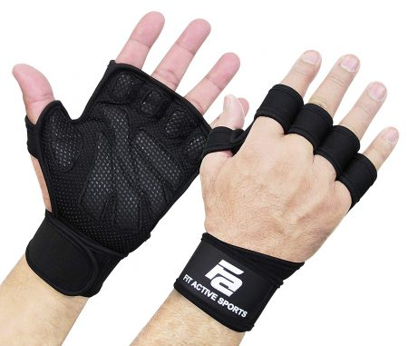 Fit Active Sports Weight-Lifting Gloves for Men