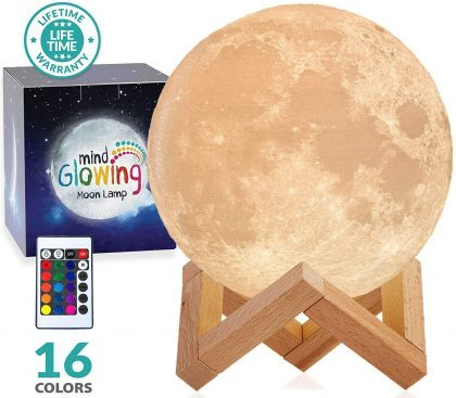 Mind-glowing Moon Lamps