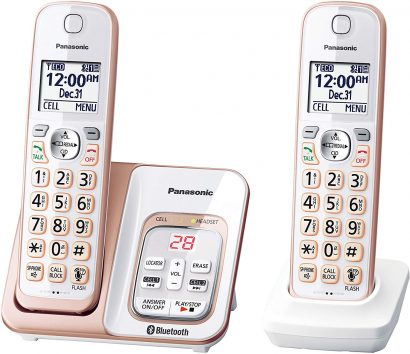 Panasonic Cordless Phone with Headset Jacks