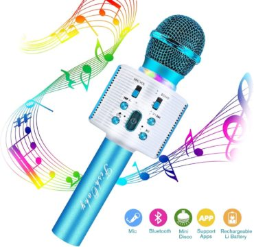 FISHOAKY Kids Microphones