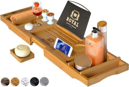 ROYAL CRAFT WOOD Bathtub Tray