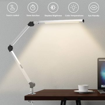 Wellwerks Swing Arm Desk Lamps