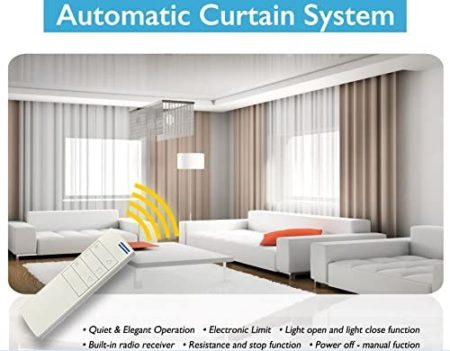 Curtain Call Remote Control Curtain Rods