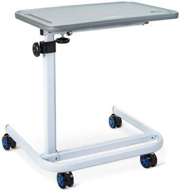 OasisSpace Overbed Table Laptop Carts